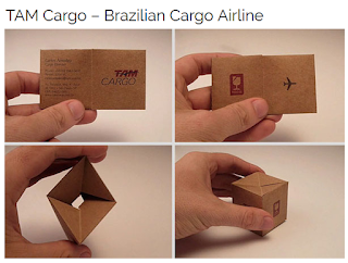 Creative Business Card Advertising