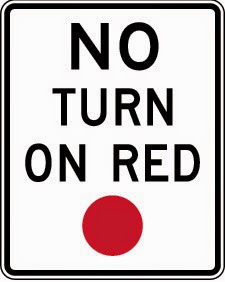 No Turn on red
