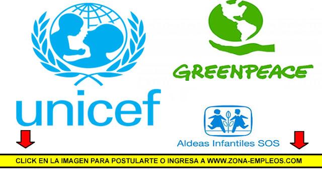 EMPLEADOS/AS PARA DIFERENTES ONG