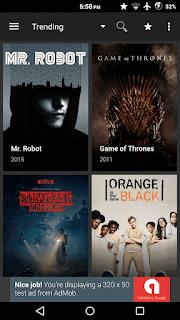 Terrárium TV - gratuitamente filmes e HD e programas de TV em seus dispositivos Android!