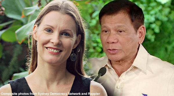 Australian PhD Researcher defends Duterte from international critics: He opened eyes to American hypocrisy...