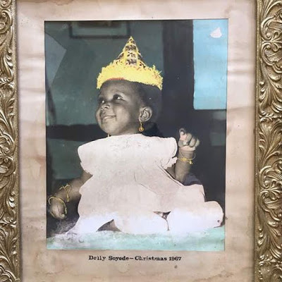 Guess whose this? Segun Awolowo celebrated wife of Vice President, Yemi Osinbanjo, Mrs Dolapo Osinbajo, with cute her baby photo
