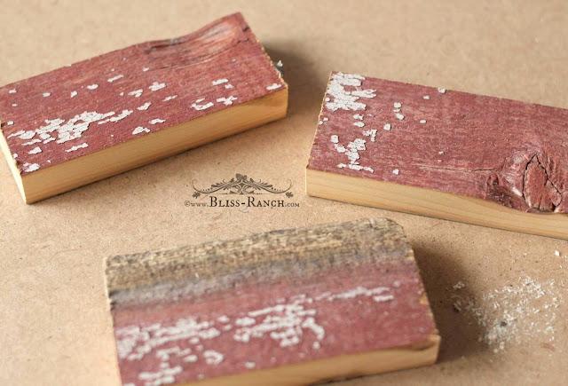 Scrap Wood Ornaments, Bliss-Ranch.com