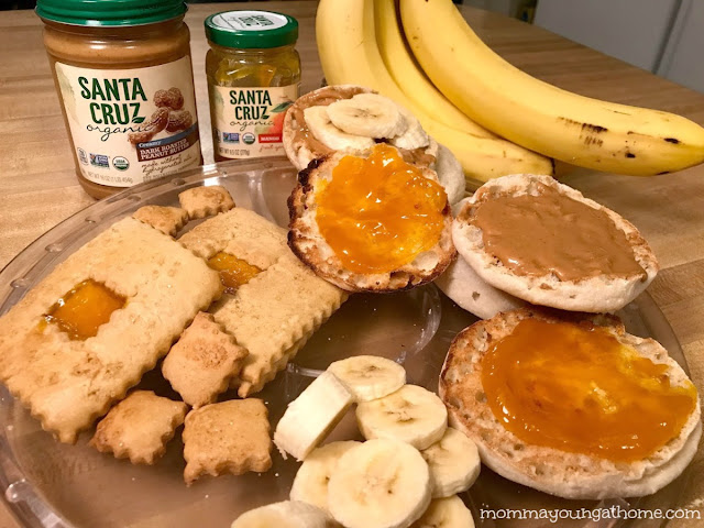 Organic Peanut Butter and Fruit Spread