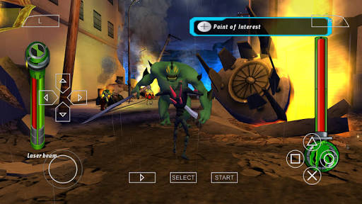 Ben 10 Alien Force PSP PPSSPP