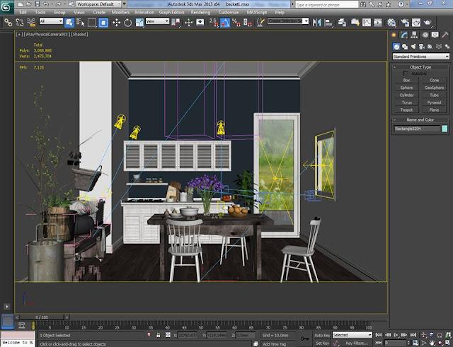 Đào tạo Đồ họa kiến trúc ( 3DMAX - AUCAD - REVIT - SKETCHUP - PHOTOSHOP ) ngắn hạn tại TP.HCM - 22