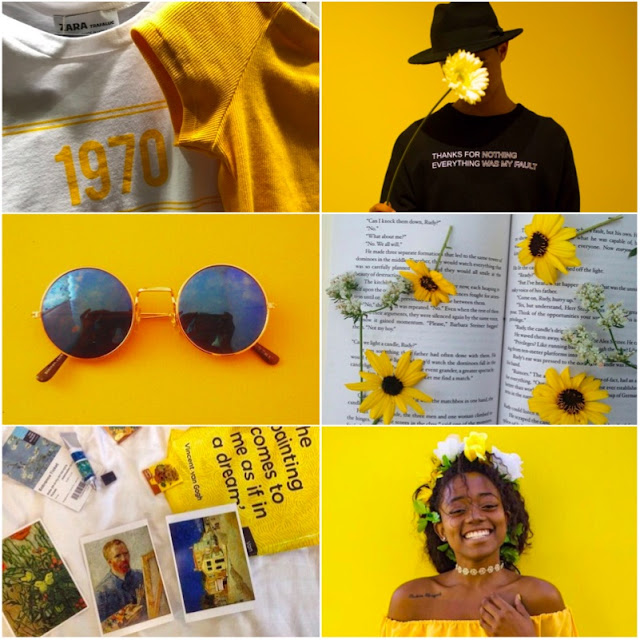 yellow feed inspo