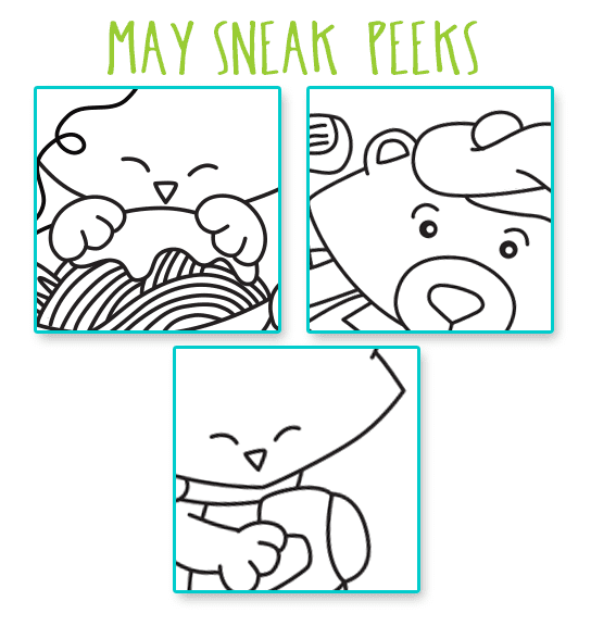 SNEAK PEEKS for our MAY release!!!!  Newton's Nook Designs #newtonsnook