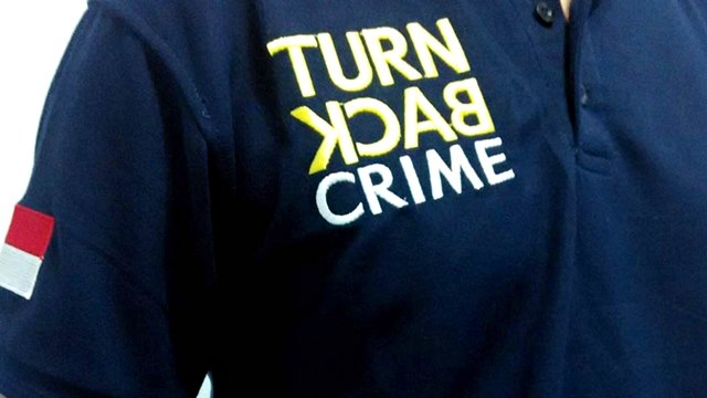 kaos my trip my adventure, kaos turn back crime, polo shirt,