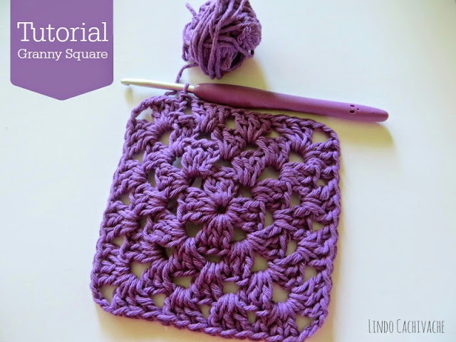 Tutorial Granny square - Crochet