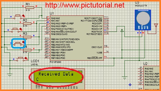RF 433 MHz (Wireless Radio Frequency) Communication Between two