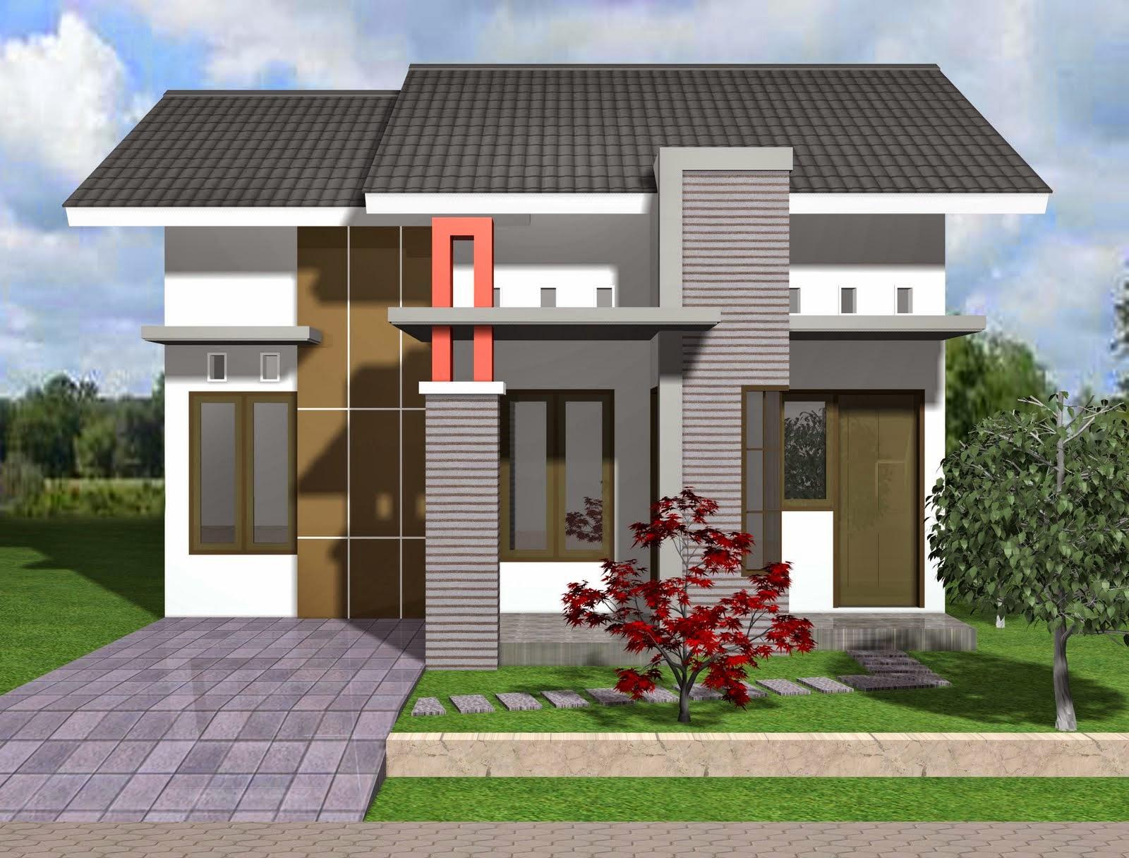 Gambar Desain Rumah Sederhana Modern Berbagai Type ( 21 ...