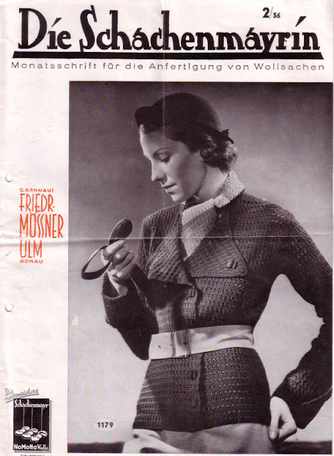The Vintage Pattern Files: Free 1930's German Knitting Booklet - Die Schachenmayrin 2/36