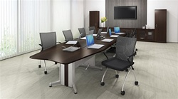 TransAction Powered Conference Table at OfficeAnything.com
