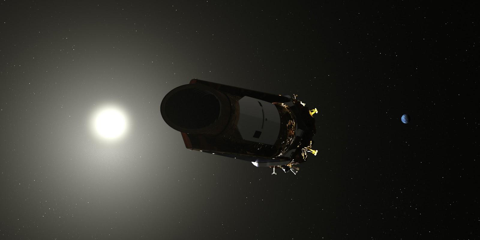 kepler spacecraft images