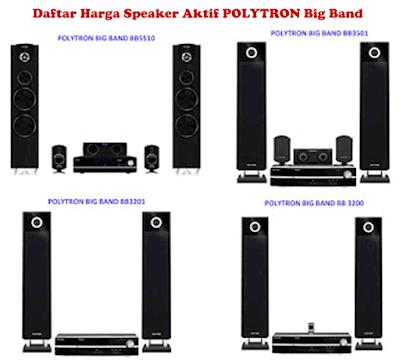 Harga Speaker Aktif POLYTRON Big Band