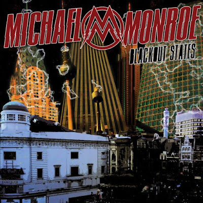 Michael Monroe - Blackout States - cover album
