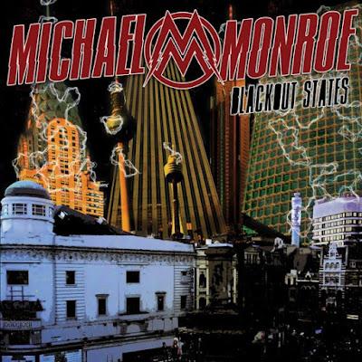 Michael Monroe - Blackout States - cover album