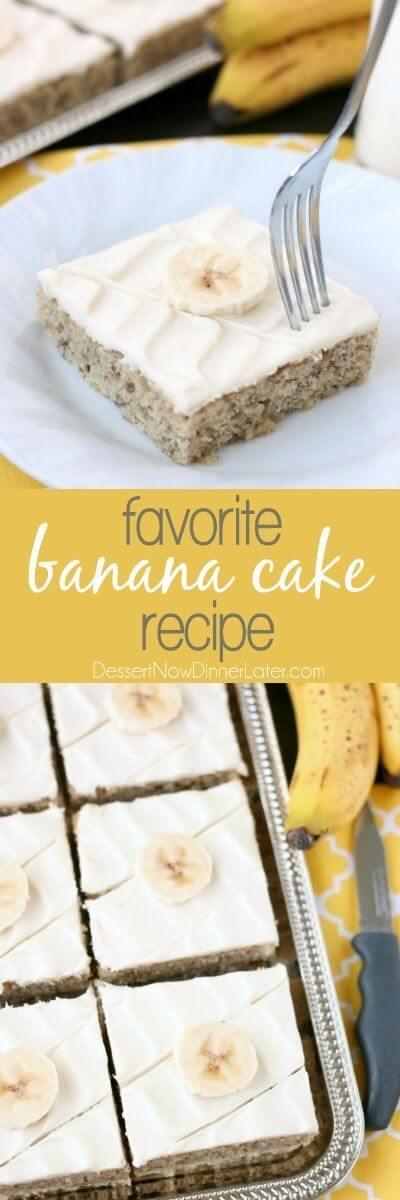 Favorite Banana Cake