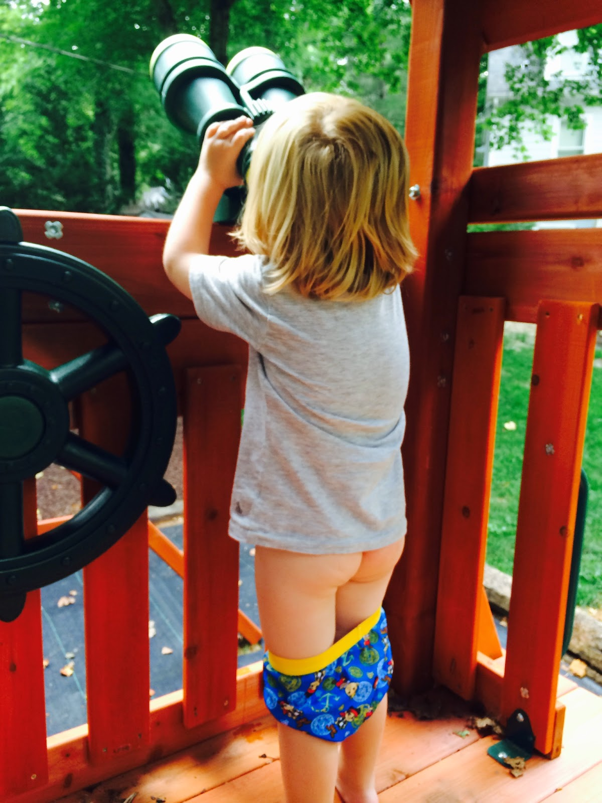 The Taylor Family: Potty Training with Luke