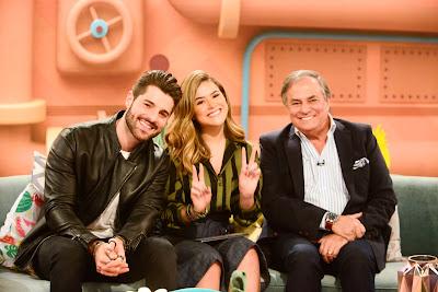 Alok, Maisa Silva e Ronnie Von - Crédito: Gabriel Cardoso/SBT