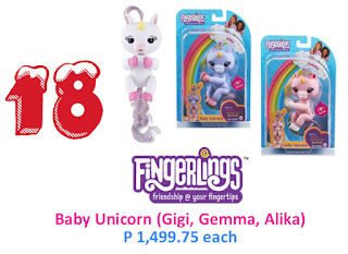 fingerlings baby unicorn toy