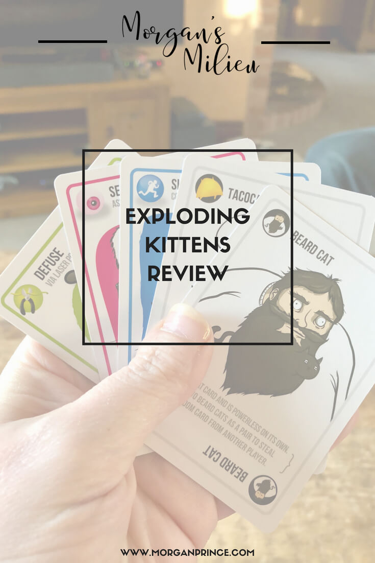 We review the card game Exploding Kittens - and we were blown away!