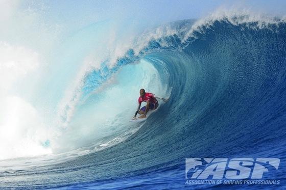 Kelly Slater Volcom Fiji Pro - Photo: Bielmann ASP