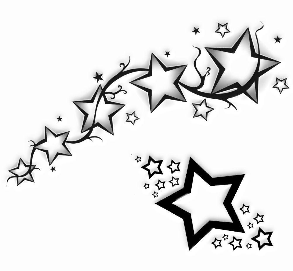 Tatuaż Wzory Tatuaży Tatuaże Wzory Gwiazdki