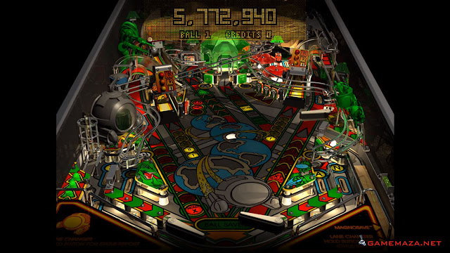 Pro Pinball Timeshock Gameplay Screenshot 2