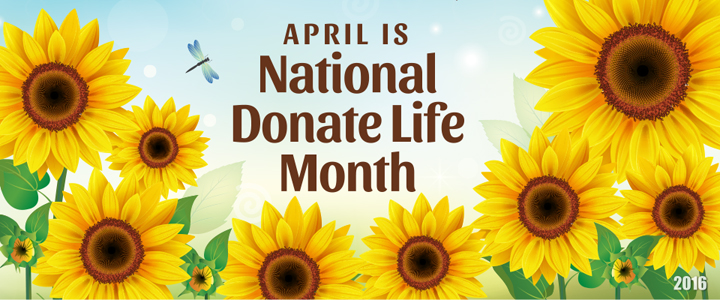 Each April, I share the story of my beloved brother and our family's dedication to raising awareness to the need for more organ, eye and tissue donors.