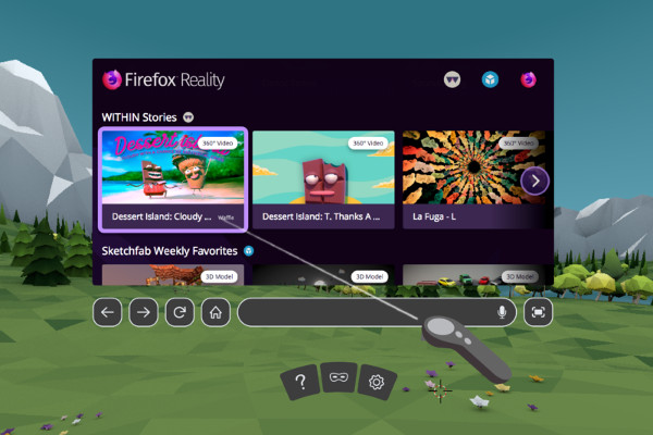 Mozilla's Firefox Reality browser now available for Viveport, Oculus and Daydream
