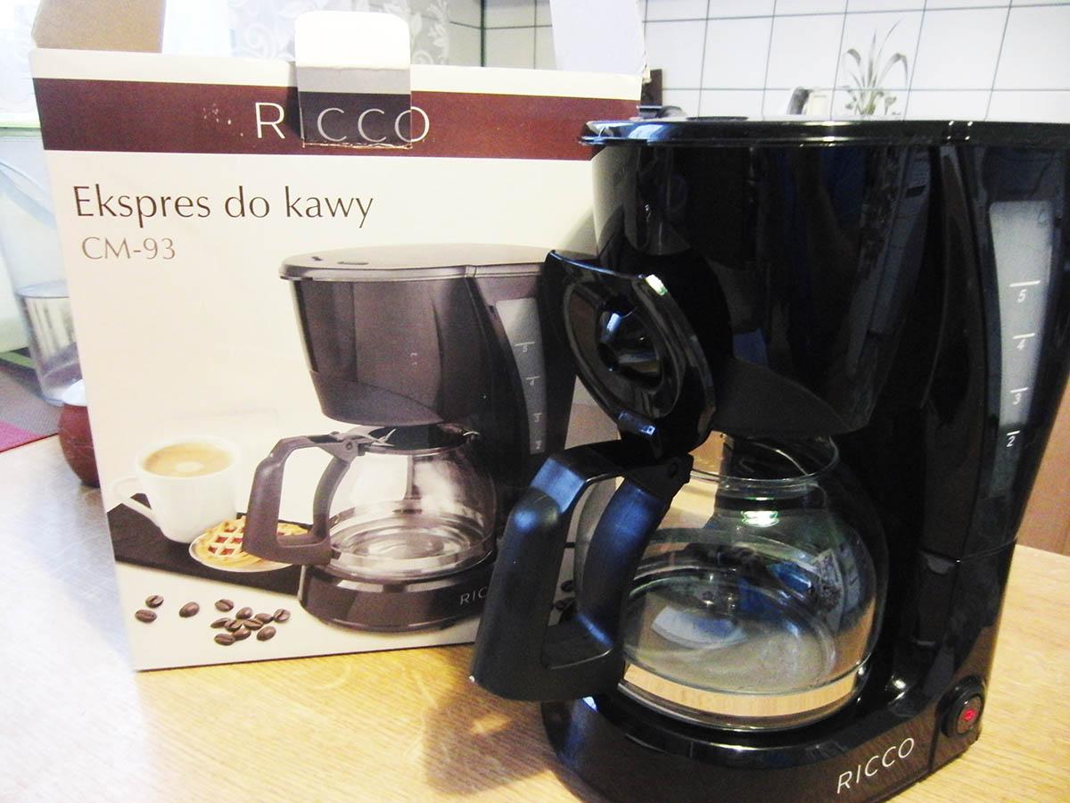 W Mega Mniam mniam: Express do kawy RICCO - CM-93 AO83