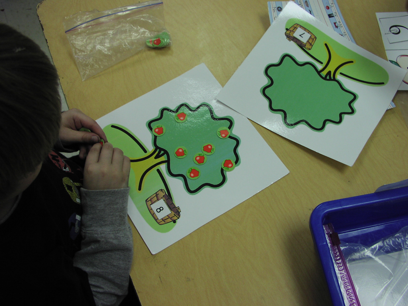 Keen On Kindergarten Apple Themed Math Work Stations