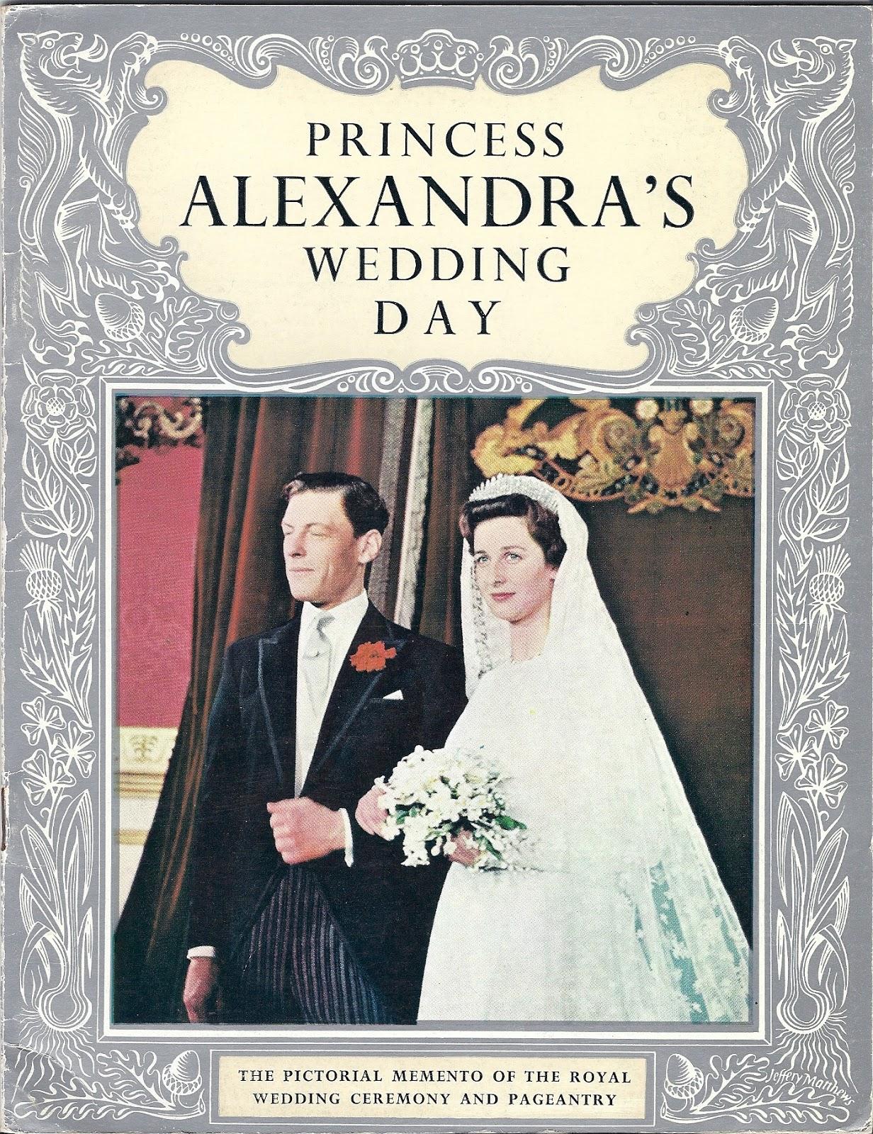 Royal Musings 50 Years Ago Today Princess Alexandra