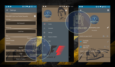 BBM Mod F1 v2.12.0.9 Apk Terbaru Gratis