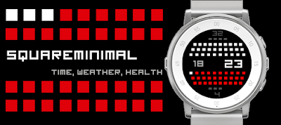Squareminimal watchface - Pebble Time Round