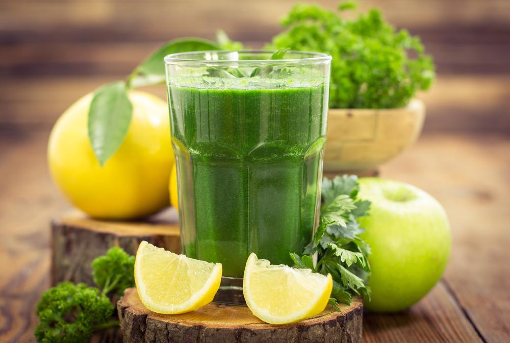ingredientes jugo verde para bajar de peso