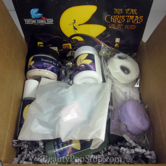fortune cookie soap nightmare before christmas soap box review and giveaway