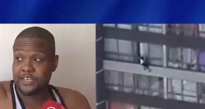 Haitiano salva a mujer que cayó desde un noveno piso en Chile