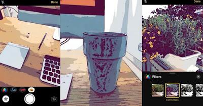 Cara Menggunakan Filter Kamera dan Stiker Pelacak Wajah iOS  Cara Mudah Menggunakan Filter Kamera Terbaru di iMessage iOS 12