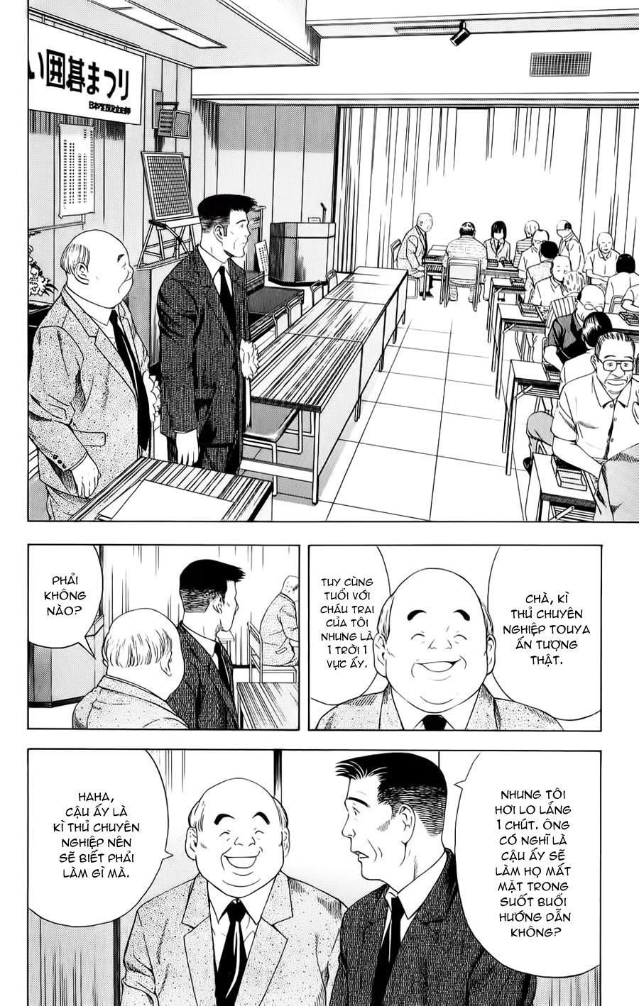 Hikaru No Go hikaru no go chap 72 trang 9