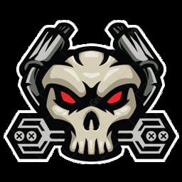 logo ff tengkorak