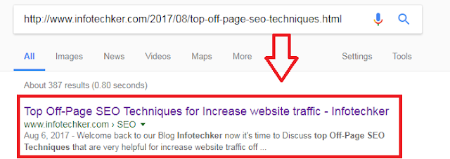 Index a Website in Google Search fast