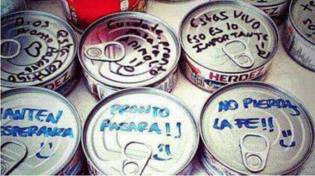 PERÚ: Ecuador: Ayuda llega acompañada de mensajes solidarios