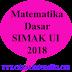 Matematika Dasar SIMAK UI 2018 [Soal dan Pembahasan] Kode 638