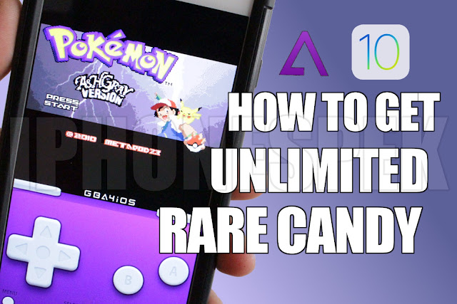 Pokemon Ash Gray: How to Get Unlimited Rare Candy's Ash Gray