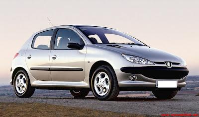 Spesifikasi Lengkap Sedan Eropa Peugeot 206