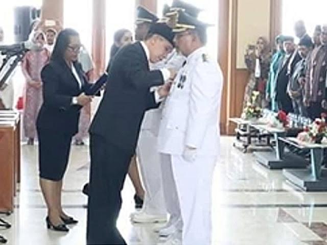 Muhamad Taher Hanubun dan Petrus Beruatwarin Resmi Pimpin Maluku Tenggara