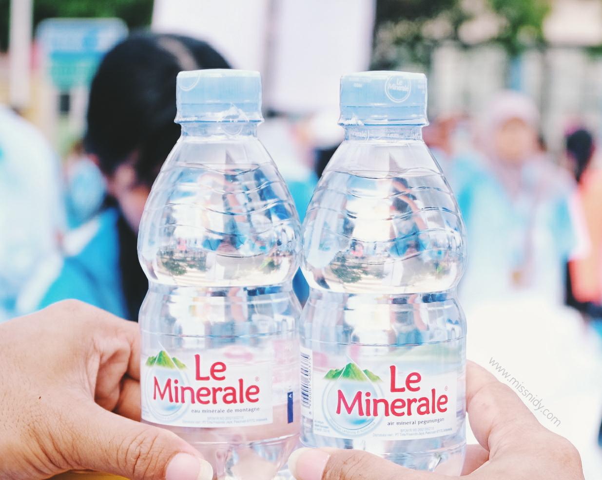 air kemasan le minerale aman dari pemalsuan